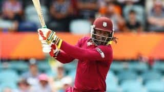 ICC WORLD CUP 2019: Chris Gayle Surpasses AB de Villiers, hits Most Six in world cup