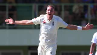 West Indies President's XI vs England:Stuart Broad claims hat-trick as England bowlers shine in first warm-up match