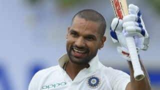 India Men vs Sri Lanka Men, 1st Test at Galle, Day 1: Shikhar Dhawan falls for 190 before tea