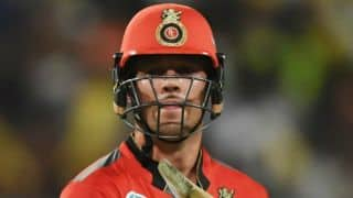 De Villiers believes Bangalore is well balanced unit despite defeat against Kolkata