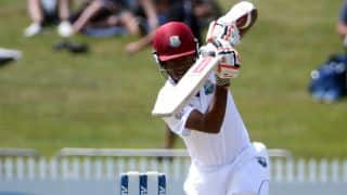 Brathwaite's fifty strengthens WI' lead against ZIM before lunch, Day 3