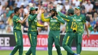 You cannot substitute experience: Faf du Plessis supports Hashim Amla's selection in World Cup squad