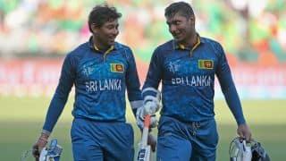 England vs Sri Lanka Live Cricket Score ICC Cricket World Cup 2015: Pool A match 22 at Wellington