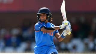 Harmanpreet smashes record-breaking 171*, IND set AUS 282 in 42 overs in semi-final 2 of WWC17