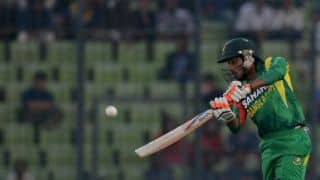 Asia Cup 2014 India vs Bangladesh: Anamul Haque departs after laying foundation; 185/3 in 38 overs