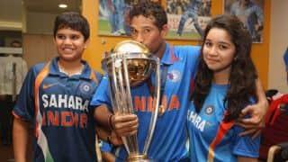 Arjun Tendulkar scores 118 off 42 balls in Smaash Master Blaster Tournament