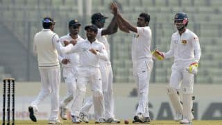 Sri Lanka win toss, elect to bat in 2nd Test against Bangladesh at Chittagong