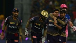 KKR vs RR LIVE: 2nd Strategic time-out update: Rajasthan Royals stay alive chasing 176 despite Piyush Chawla's 3/20