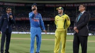 India vs Australia 2019, 2nd T20I, Bengaluru: Australia elect to bowl, Rohit rested, Shankar, Kaul, Dhawan in playing XI