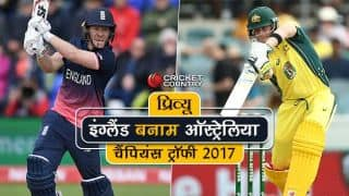 England vs Australia, preview and likely XIs, ICC Champions Trophy 2017: Australia look to book semi-final berth