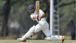 1st unofficial Test: Priyank Panchal, Abhimanyu Easwaran tons help India A post 376/1 on Day 1
