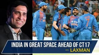 VVS Laxman: India in great space ahead of Champions Trophy title defence