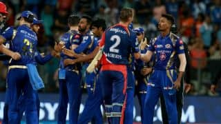 Photos: Mumbai Indians (MI) vs Delhi Daredevils (DD) IPL 2017, Match 25 at Mumbai