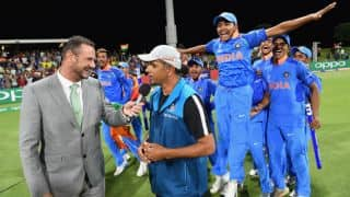 India U-19 lucky to have Rahul Dravid as coach: Ajinkya Rahane