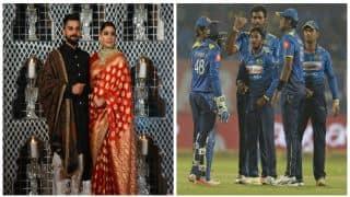 Sri Lanka team to not attend Virushka's Mumbai reception on December 26