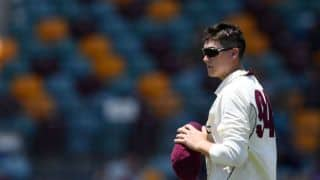 Video: Queensland slapped with rare five-run penalty as Matthew Renshaw's On-field joke goes wrong