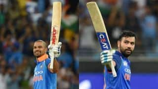 Asia Cup 2018, Super Four: Shikhar Dhawan, Rohit Sharma hit centuries as India crush Pakistan