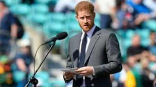 Cricket World Cup 2019: Prince Harry, Duke of Sussex, opens tournament at The Oval