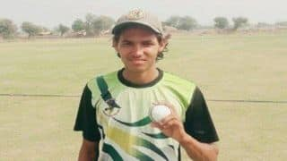 15-year-old Rajasthan boy claims 10 wickets for no runs in a T20 tie