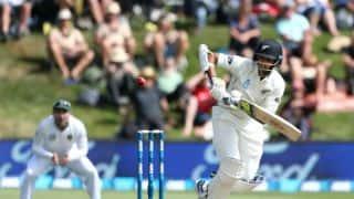 New Zealand vs South Africa, 1st Test, Day 2, tea: Jeet Raval, Kane Williamson keep Kiwis in hunt