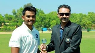 India Under-19 team beat South Africa by nine wickets