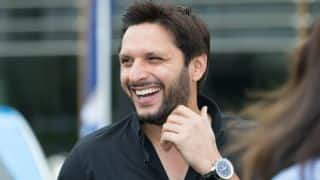 Afridi expresses desire to play farewell match in Lahore