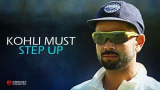 """It is time for """"Captain Kohli"""" to step up"""