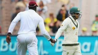मेलबर्न टेस्ट पहला दिन: बर्न्स, ख्वाजा का शतक, आस्ट्रेलिया मजबूत स्थिति