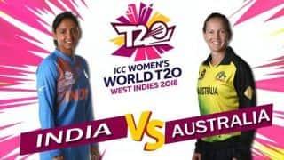 ICC Women's World T20 2018, India vs Australia, LIVE cricket score: India beat Australia by 48 runs to enter semifinals unbeaten