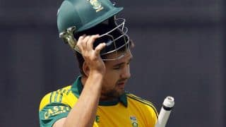 The Sachin Tendulkar-Rilee Rossouw connection