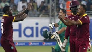 PAK vs WI: Hosts post a target of 161