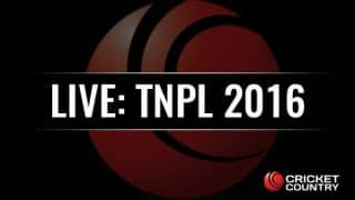 TP 150/1, 16.3 overs | Live Cricket Score, Ruby Kanchi Warriors vs TUTI Patriots, TNPL 2016: TP win by 9 wickets