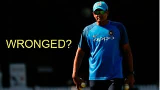 Anil Kumble does not deserve this kind of treatment: Lodha Committee