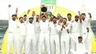 Team India remain Test champion, England on top in ODI after annual rankings update
