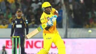 Parvinder Awana takes hat-trick as CSK score 182/7 in CLT20 2014 semi-final