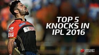Kohli: Top 5 knocks in IPL 2016