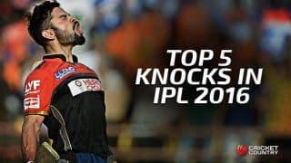 Virat Kohli: Top 5 knocks in IPL 2016
