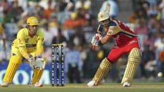 IPL 2018, RCB vs CSK, Full Cricket Score and Updates, Match 24 at M.Chinnaswamy Stadium: 50 for Dhoni; CSK still in hunt