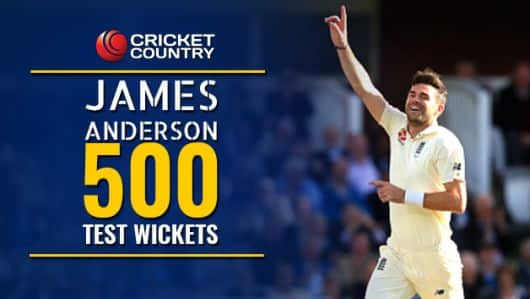 James Anderson: Journey to 500 Test wickets