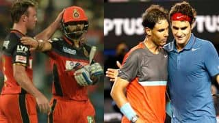 Virat Kohli and AB de Villiers: Cricket's own Rafael Nadal and Roger Federer