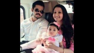 Boy it is! Sreesanth becomes father for second time