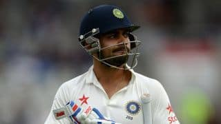 India 8-4 trending worldwide on Twitter as India collapse against England in 4th Test at Manchester