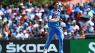 India vs West Indies, 1st T20I: Navdeep Saini 3 wickets restricts windies to 95/9