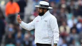 Ashes 2019: Aleem Dar equals Steve Bucknor's record as he officiates in 128th Test