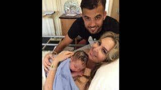 JP Duminy and Sue Duminy become parents