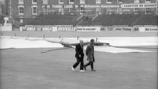 Gubby Allen's horror at the Oval Test of 1968