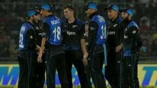 New Zealand team arrive in India for ODI, T20I series