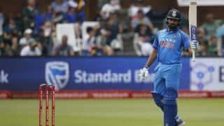 पोर्ट एलिजाबेथ वनडे: रोहित शर्मा ने जड़ा शानदार शतक: लुंगी एनगिडी के 4 विकेट हॉल की बदौलत भारत 274/7