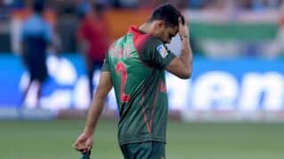 Political aspirations leave Mashrafe Mortaza's participation versus West Indies in doubt