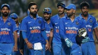 भारत बनाम श्रीलंका, पांचवां वनडे: मैच शुरू होने में देरी, बारिश ने डाला खलल